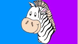 """Песня про зебру """"מי יודע מדוע ולמה לובשת הזברה פיג׳מה"""""""