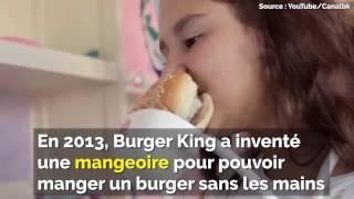 La mangeoire pour burger (Burger King)