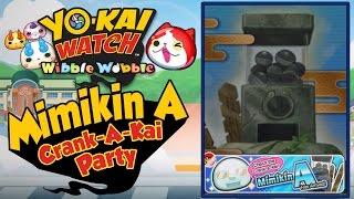 Yo-Kai Watch Wibble Wobble - Mimikin Crank-A-Kai Party! [Android & iOS Gameplay]