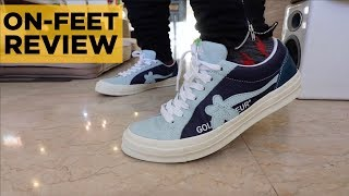 CONVERSE GOLF LE FLEUR (TYLER THE CREATOR) INDUSTRIAL PACK ON-FEET REVIEW