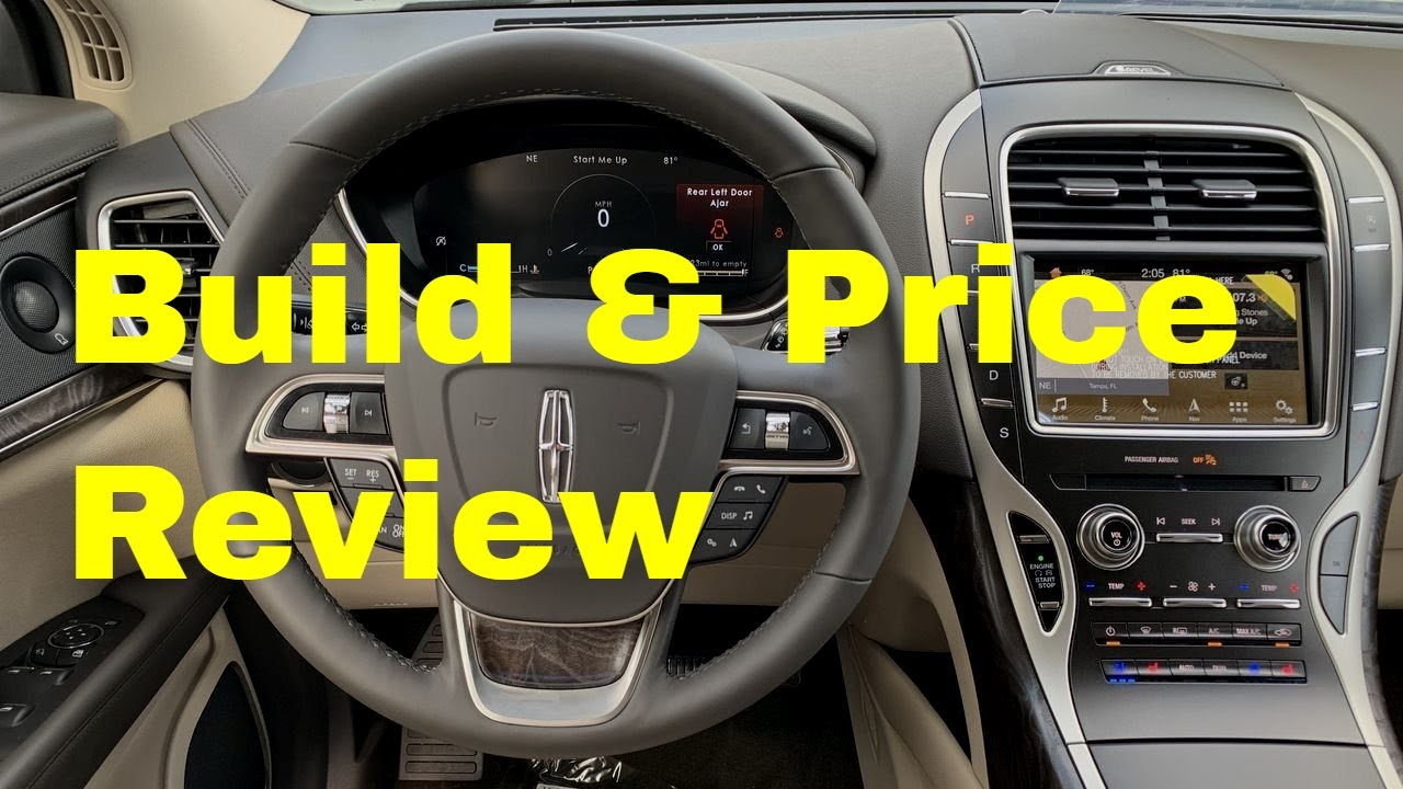 Black Label Price >> 2019 Lincoln Nautilus Reserve AWD SUV - Build & Price ...