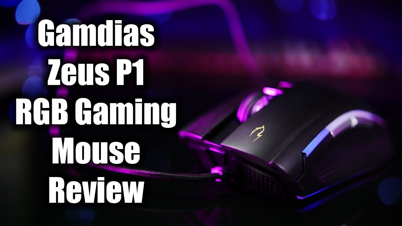 Me Zeus Ta Gamdias P1 Rgb Gaming Mouse Review Youtube