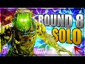 DIE MASCHINE SOLO EASTER EGG ON ROUND 8!! Cold War Zombies Low Round Strats #2