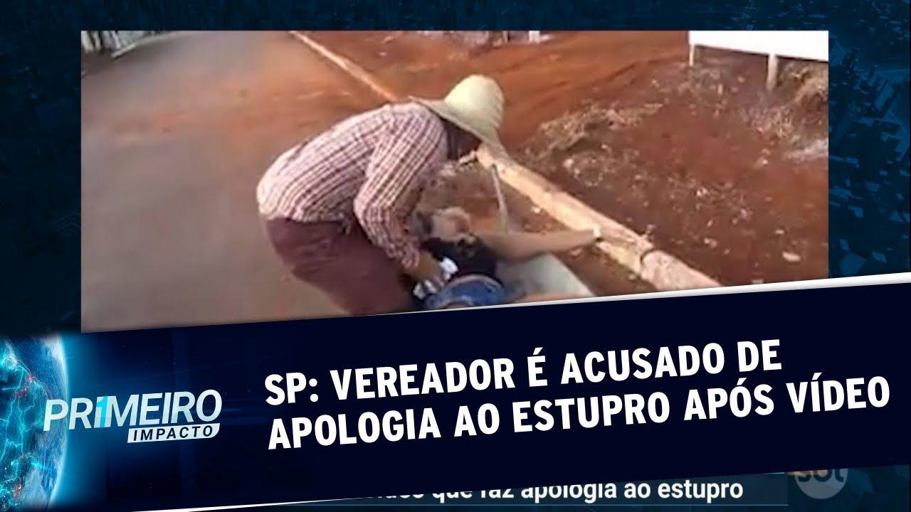 Vereador é acusado de fazer apologia ao estupro após vídeo polêmico   Primeiro Impacto (09/01/20)