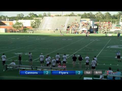 Full Game: Jacksonville Cannons at Raleigh Flyers — Week 10