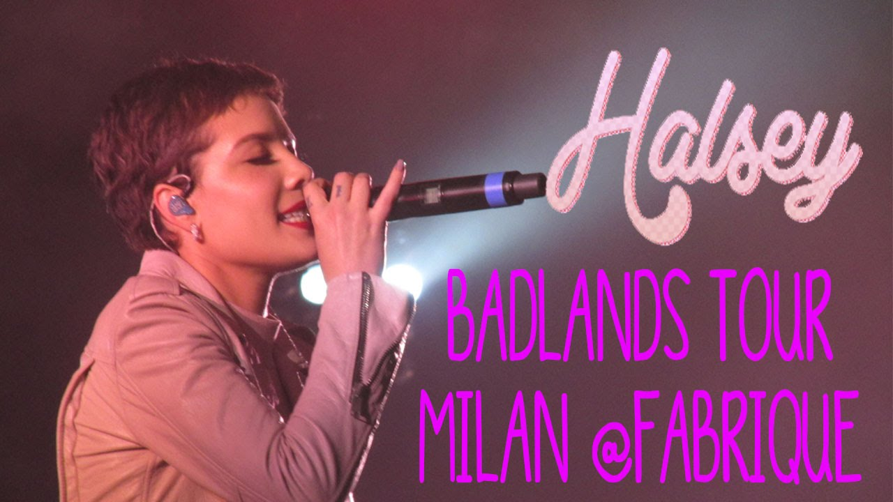 Download IS THERE SOMEWHERE - Halsey, Milan @Fabrique 05\03\2016