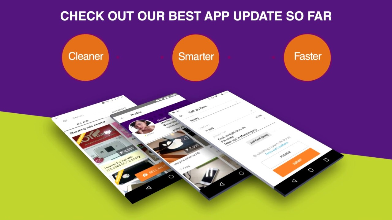 The All-New OLX App - Faster buying and selling so we all #WinTogether!