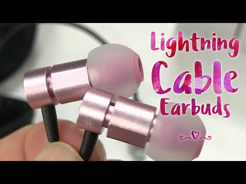 Noise Cancelling iPhone Earbuds with Lightning Connector by Nasudake Review