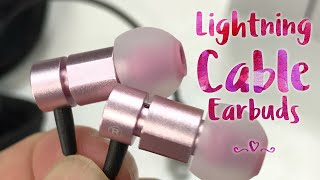 Video Noise Cancelling iPhone Earbuds with Lightning Connector by Nasudake Review download MP3, 3GP, MP4, WEBM, AVI, FLV Juli 2018