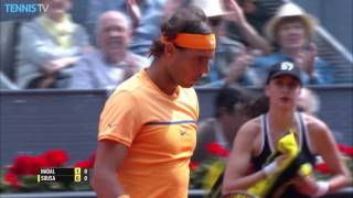 2016 Mutua Madrid Open: Friday Highlights - feat. Murray, Nadal & Djokovic