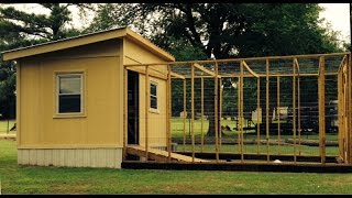 DIY Chicken Coop Plans -Build Chicken Coop Step by Step Instructions