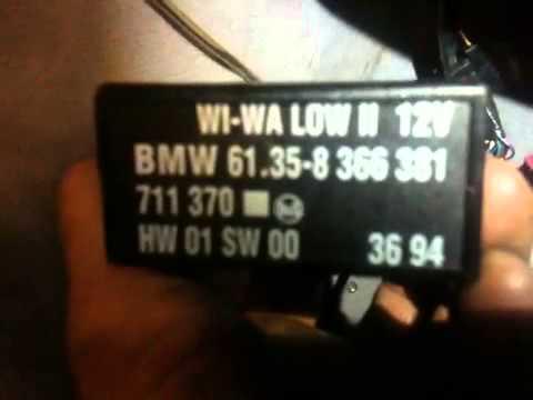 1999 bmw 323i e36 wiper blade problem solved youtube rh youtube com BMW Stereo Wiring Diagram BMW E36 Radio Wiring