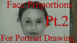 Part2: How to Draw Face, Front View Step by Step (The Ultimate Guide)