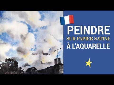 Ciel sur papier satiné - VERSION FRANÇAISE