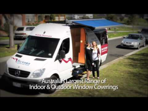 Victory Curtains and Blinds Mobile Showrooms
