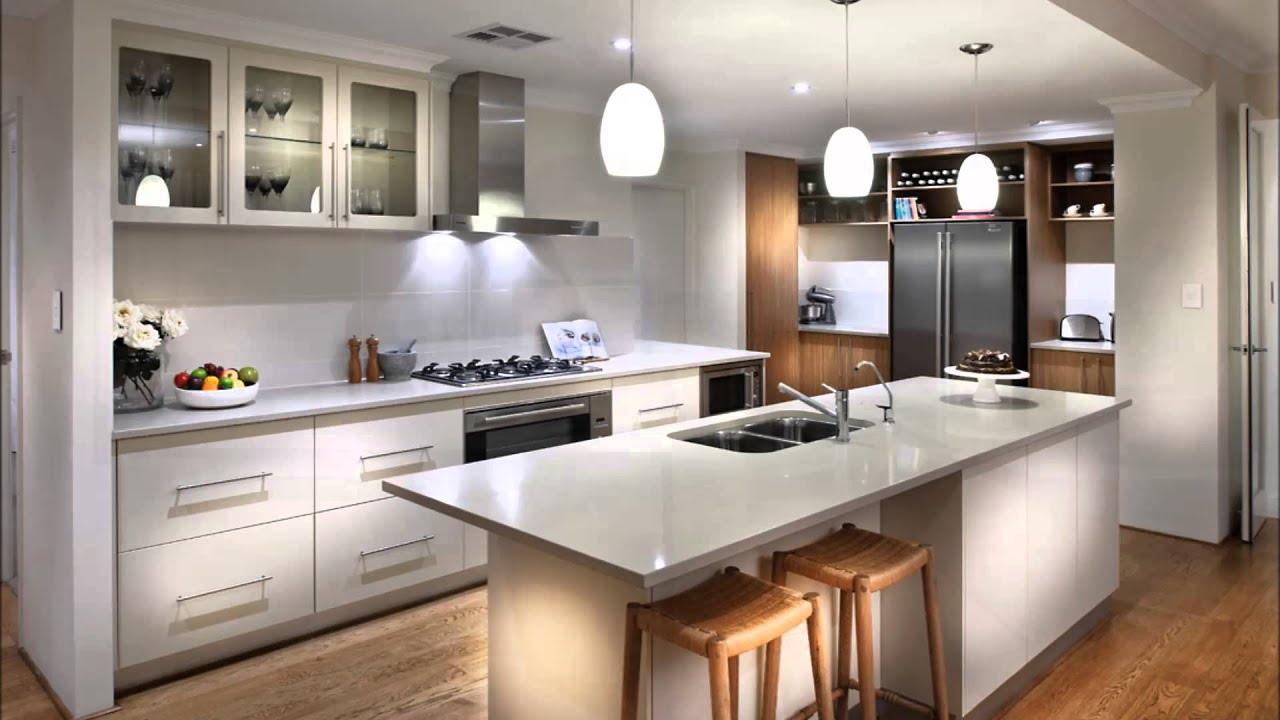kitchen home design - display home perth - dale alcock homes - youtube