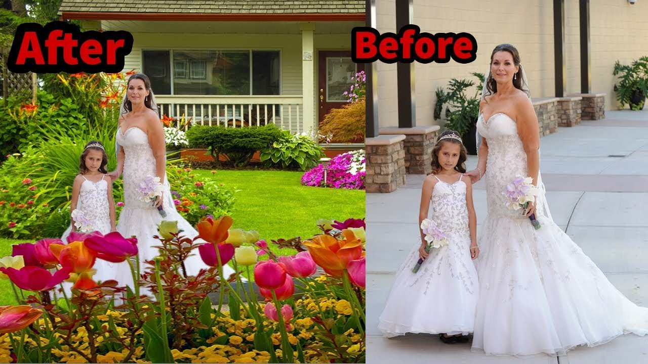 how to change a picture background in photoshop