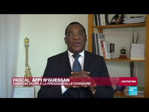"""Pascal Affi N'Guessan : """"Avec Laurent Gbagbo, nous avons la même ambition pour la Côte d'Ivoire"""""""