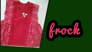 how to make  stylish tunic top baby frock cutting and stitching full tutorial