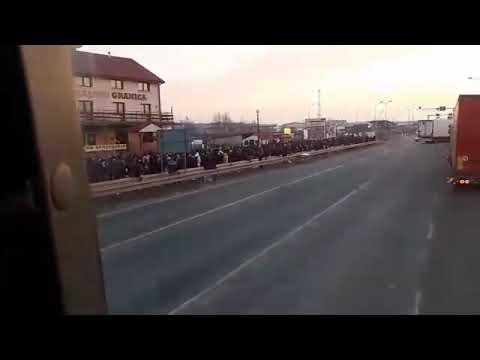 Заробитчане прорывают границу в Украину