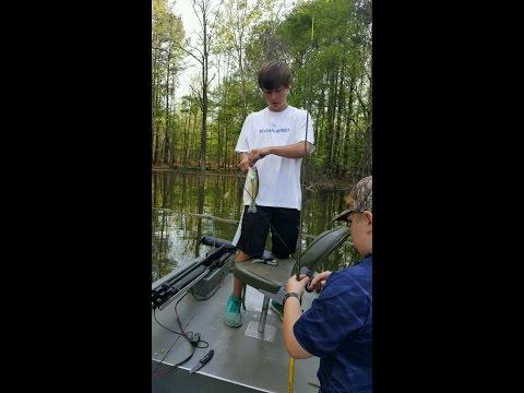Fishing At Lake Purdy