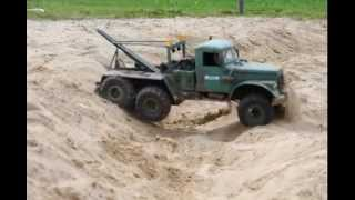 axial scx 10 6x6 kraz 255 twin motor scale drive