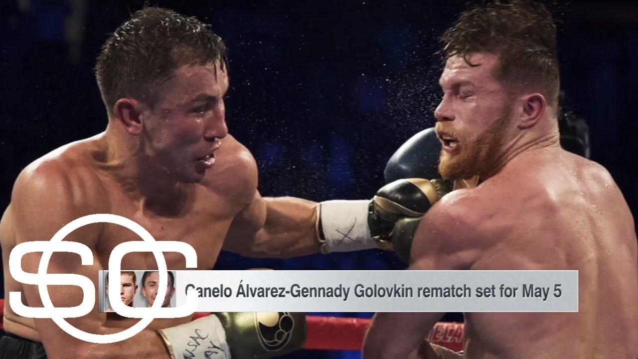 Canelo Alvarez and Gennady Golovkin announce rematch | SportsCenter | ESPN