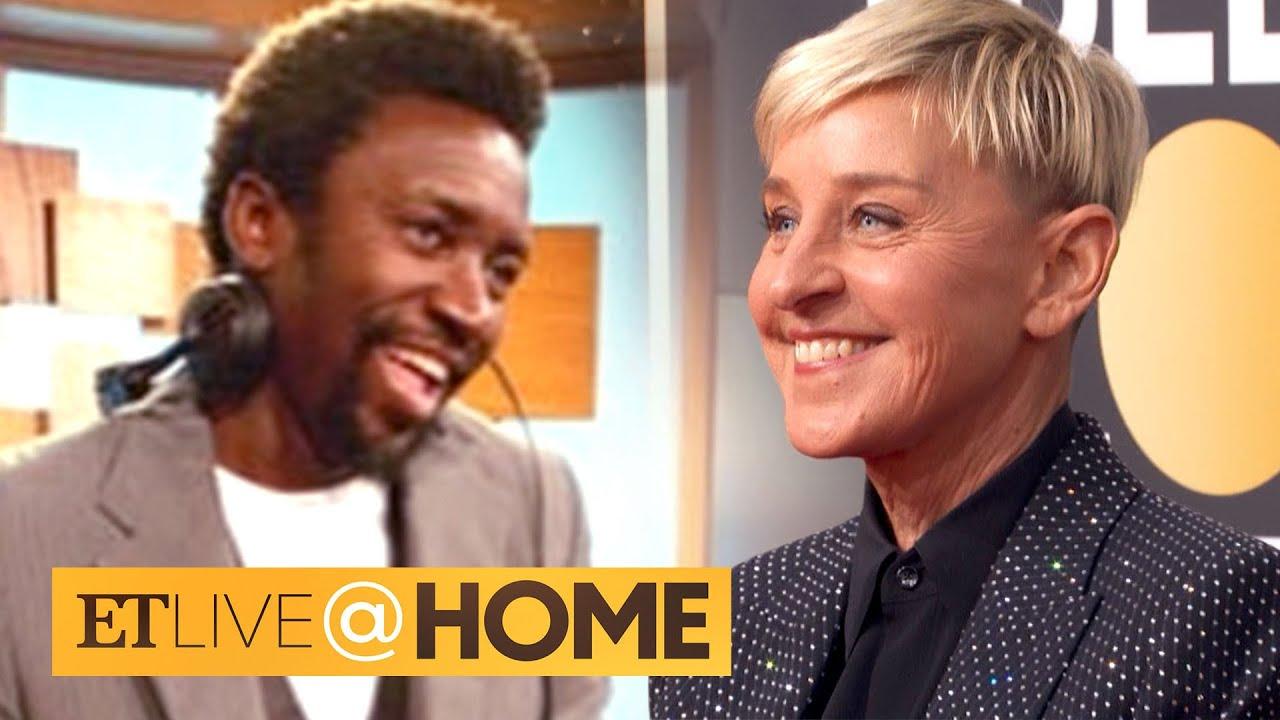 Former 'Ellen' DJ Posts About 'Toxicity' Behind The Scenes | ET Live @ Home