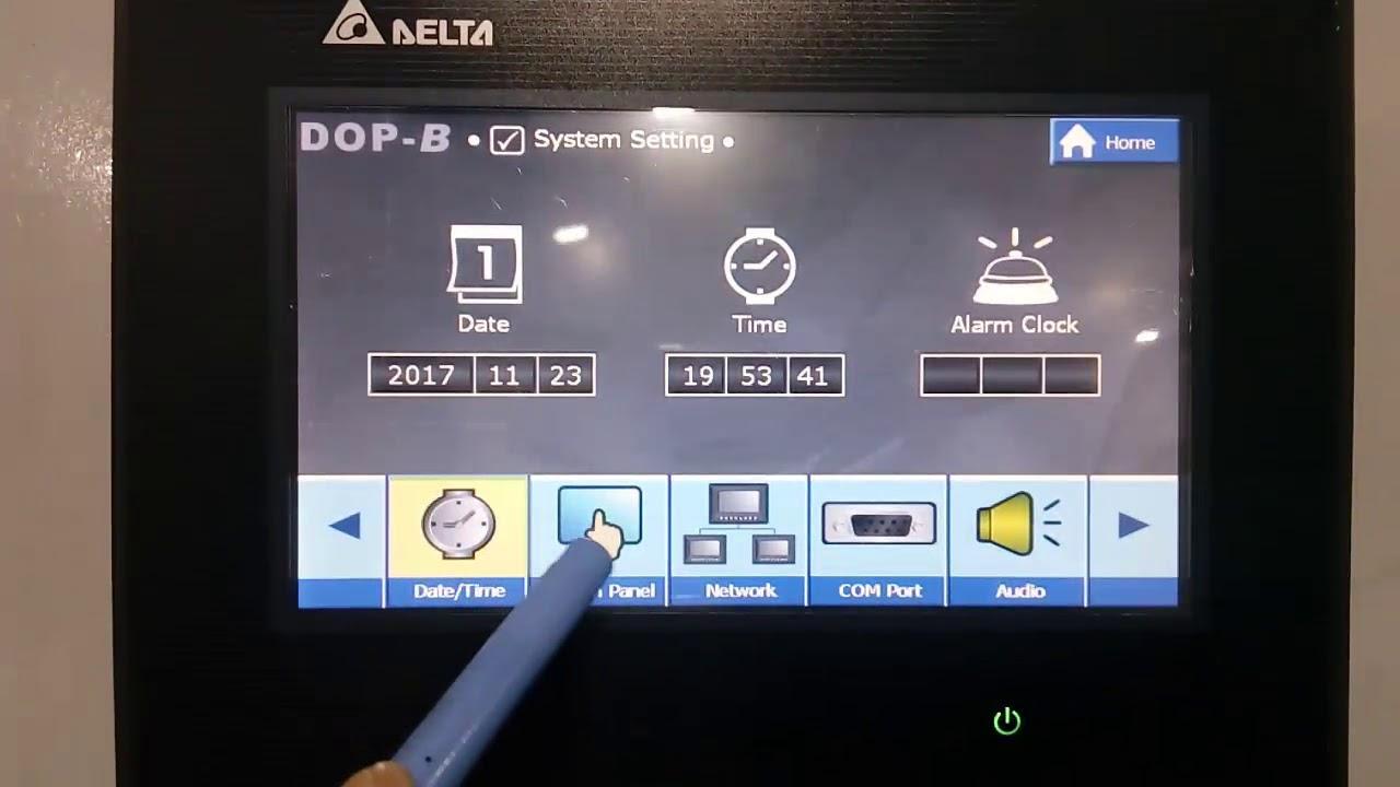Delta HMI Ethernet Communication - IP Configuration