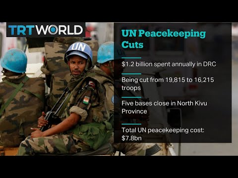 UN Peacekeeping Cuts: Five UN bases to close in DR Congo