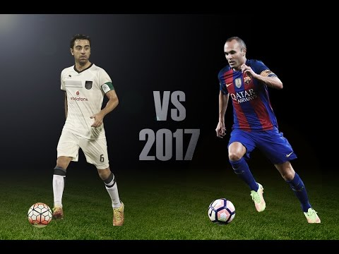 Andres Iniesta VS Xavi Hernandez - The Battle of Maestros 2017 (HD)