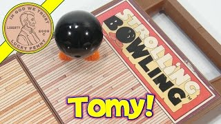Tomy Strolling Bowling Mini Game - Bowling Ball Wind Up Toy!