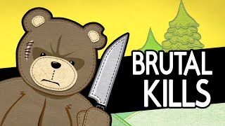 Naughty Bear - All Executions (Brutal Kills Compilation)