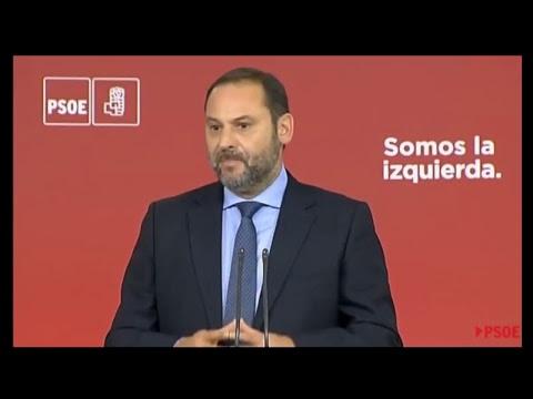 Reacción del PSOE a la declaración de Puigdemont  - 10 OCTUBRE