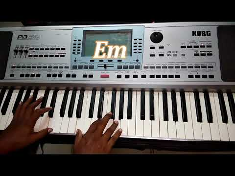 நீரே என் தஞ்சம் (Neerae En Thanjam) Tamil Christian Song Keyboard Chords Displayed