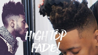 💈 IMAN SHUMPERT HAIRCUT   MID FADE WITH TWISTED TOP
