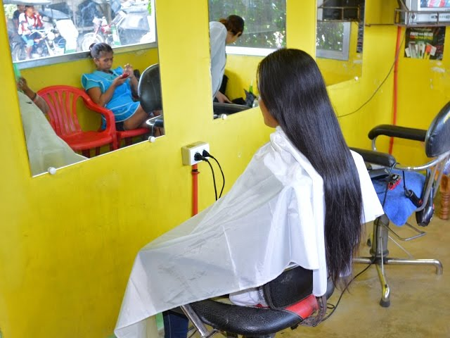 Girl long hair to headshave NEW FULL VIDEO