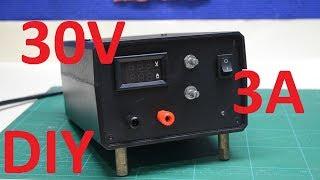 KIT DIY Лабораторный блок питания 30V/3A. своими руками