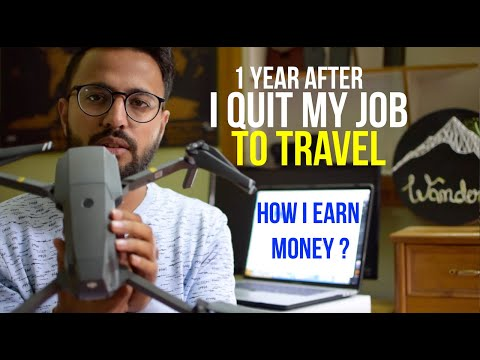 Indian Techie Travelling without a Job | How I earn money ?