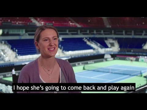 Victoria Azarenka speaks about Serena Williams' pregnancy