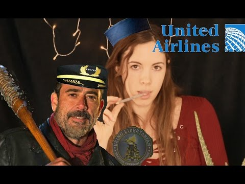United Airlines Counseling - ASMR - Surviving United Airlines Flight