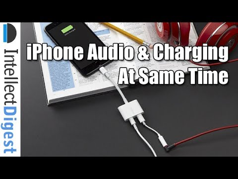wholesale dealer 5c794 f6872 iPhone 7- Charge and Listen To Music At Same Time Using Belkin RockStar  Audio And Charge