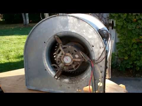 American Standard Blower Motor Removal (Part 1 Of 4)
