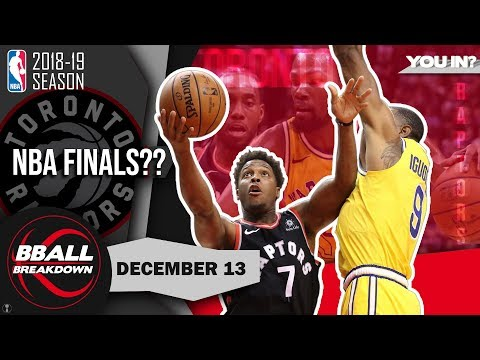 Lowry Shows Why Raptors Will Meet Warriors In The NBA Finals