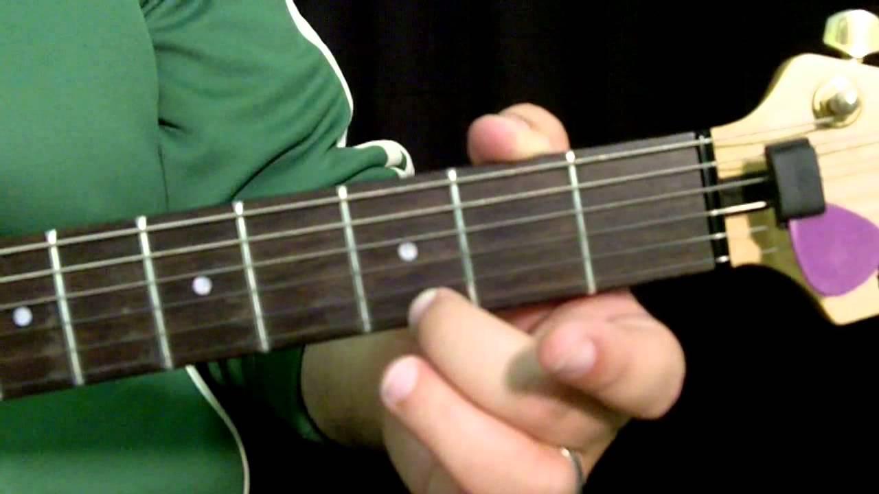 The open e pentatonic scale guitar lesson youtube - Open e scales ...
