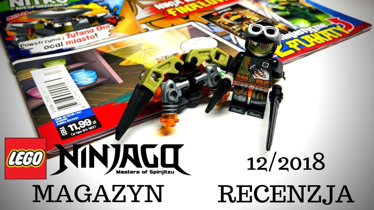 Magazyn Lego Ninjago 122018 Recenzja Youtube