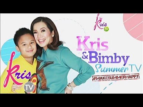 kris tv kris and bimby summer tv s new theme song sung by darren