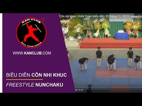 Côn nhị khúc | KAN Team biểu diễn 20 tháng 11. 2013 | Kanshop.vn | 쌍절곤 | 雙截棍 | Нунчаку | ヌンチャク