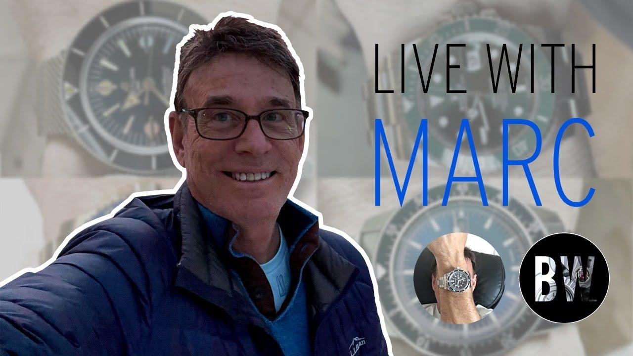 Live with Marc Goldberg