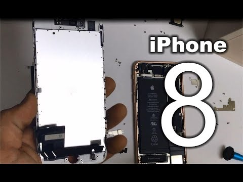 How to replace iPhone 8 LCD Glass Screen | Screen Replacement